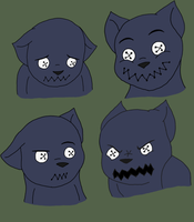 Noog Emotions by FuzzyAliens