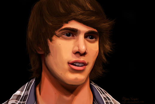 Blake Jenner (Painting) by Oyn