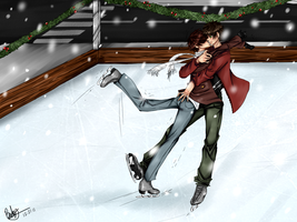 Ice Skating by BlackDiamond13