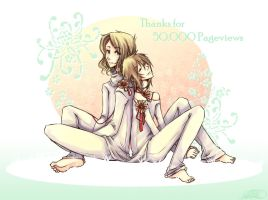APH - Thanks fo 50k pageviews by Cowslip