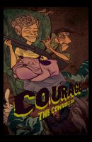Courage the Not-So-Cowardly by KateKaz