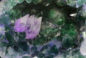 Coloured Crystals by BTrerice