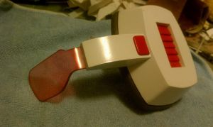 Dragonball Z scouter by weaselhammer