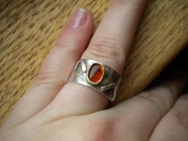 Sunset Ring, Front by LadyClona
