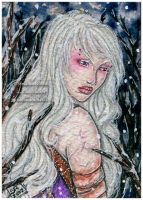 ACEO :: Fanhir - Reflection by StefaniaRusso