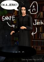 Snape is a Jerk by Laxitives