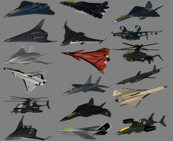 Current Combat Aircraft by Venom800TT