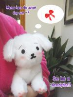 Hanatamago plushie patterns by BlackLadySango