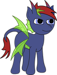 MLP OC: Abstract Memory by EbenToons