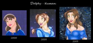 Now and then by DolphyDolphiana
