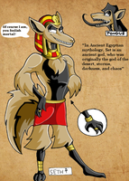 Seth Ref. Sheet by KaylaTheDragoness