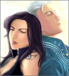 Isabella and Vergil by ultema