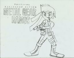 Metal Gear Ramos by Ramos64