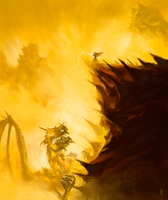 Fight in the flames by Emkun
