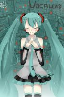 Hatsune Miku by AliceR1a