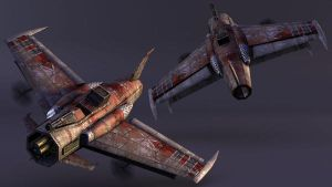 Enemy Fighter Plane 1 - Icarus by musegames