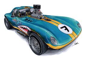 Cheetah Coupe Dirt Racer by vsdesign69