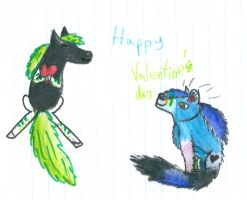 Happy Valentine s day by CanineCriminal
