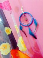 Blue Love Dream Catcher (Buyers Picture) by TheInnerCat