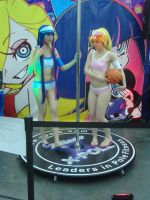 Panty and Stocking Dancing by DNLnamek01