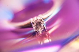 Colorful Diamond Ring II by LDFranklin