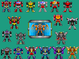 Transformer Models 10-13-12[Pixel Heroes] by THX1138666