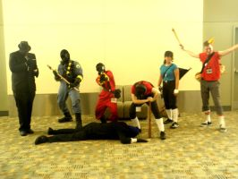 Otakon 2011 - Team Fortress 17 by mugiwaraJM