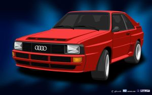 Audiquattro41680X1050 by R2PI