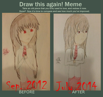 Before and After Meme by ShadoeKat