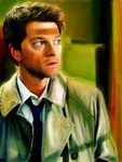 Tegaki E - Castiel Warm Color Study by Sukautto