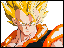 Gogeta in Vector by Sanderson-V3