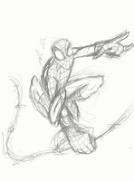 REALLY FREAKIN SKETCHY SPIDEY!!!!! by Maygirl96