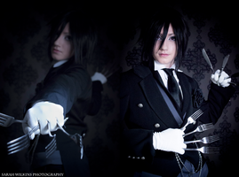 Sebastian Michaelis by sarahwilkins