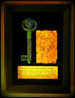 The Silver Key and Dream Parchment Fragment by JasonMcKittrick