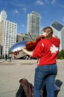 Canada plays for the Bean by NamekAngelIvy