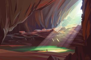 Cave by O-l-i-v-i