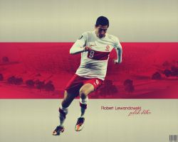 Robet Lewandowski Wallpaper by TheVeee