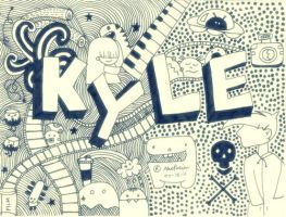 doodle:kyle by andreakris