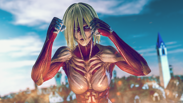 Female titan by RiStarr