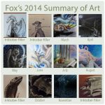 2014 summary of art by The-fox-of-wonders