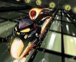 Ghost Rider by steven-donegani