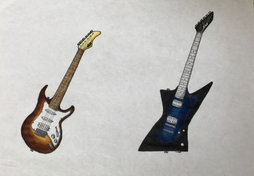 Request - Electric Guitars by szephyr