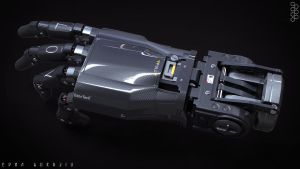 Robotic Hand- Concept by DrZoidberg96