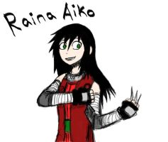 Raina Aiko OC Request for shadowfear92 by Shadow-chan15