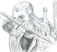 My first Legolas by Pronkbaggins