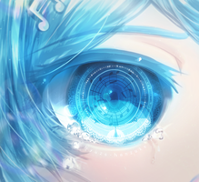 Beautiful Eyes by Ryuze-nanzuke