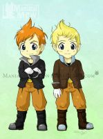 Claus and Lucas by ManiacalMew