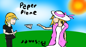 Paper Plane and Prisoner by pallaza