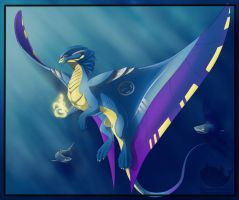 Dragon 46/52 - Depth Charge Dragon by OuttatheBlueSkye