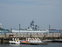 USS New Jersey by TSofian